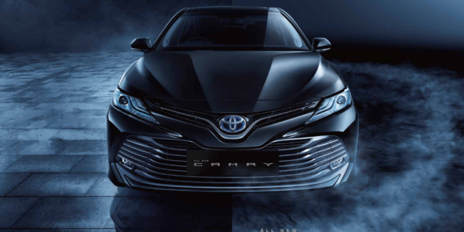All New Camry Hybrid